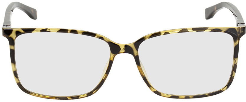 Picture of glasses model Montpellier-braun/gelb-marmoriert in angle 0