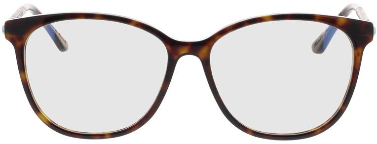 Picture of glasses model Wood Fellas Optical Cronheim walnut/havana 54-14 in angle 0