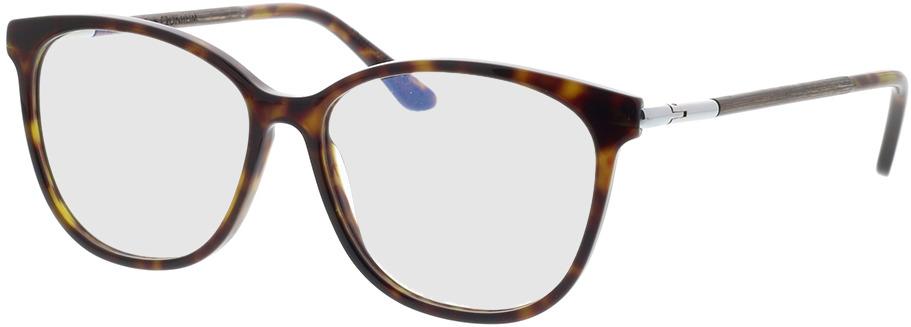 Picture of glasses model Wood Fellas Optical Cronheim walnut/havana 54-14 in angle 330