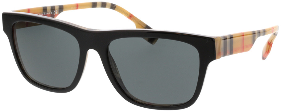 Picture of glasses model Burberry BE4293 380687 56-17 in angle 330