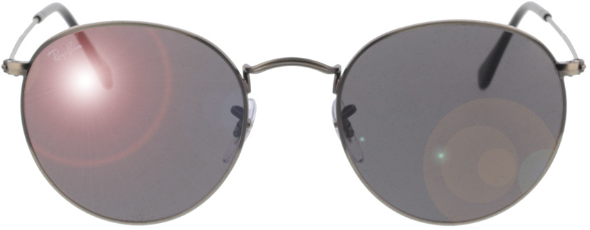 Picture of glasses model Ray-Ban RB3447 9229B1 53-21 in angle 0