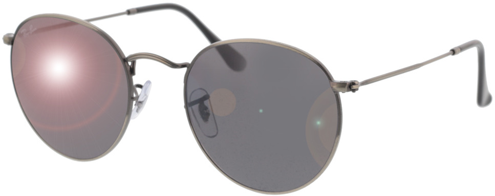 Picture of glasses model Ray-Ban RB3447 9229B1 53-21 in angle 330