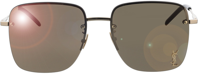 Picture of glasses model Saint Laurent SL 312 M-006 58-17 in angle 0