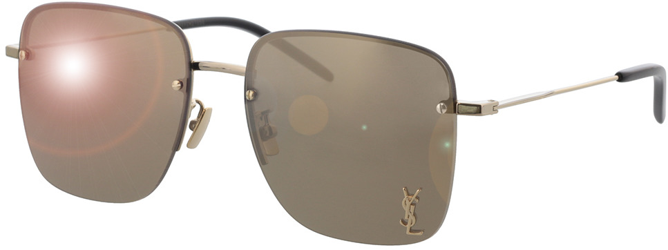 Picture of glasses model Saint Laurent SL 312 M-006 58-17 in angle 330