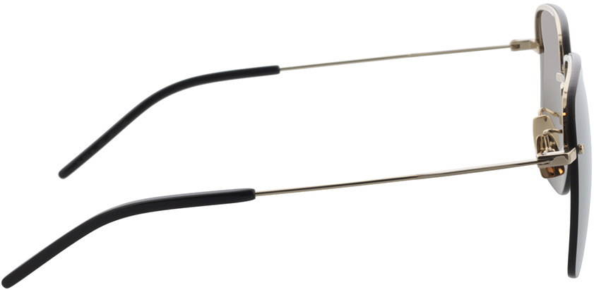 Picture of glasses model Saint Laurent SL 312 M-006 58-17 in angle 90