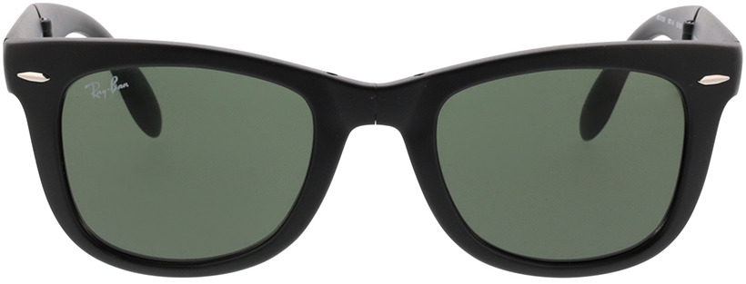 Picture of glasses model Ray-Ban Folding Wayfarer RB 4105 601S 50-22 in angle 0