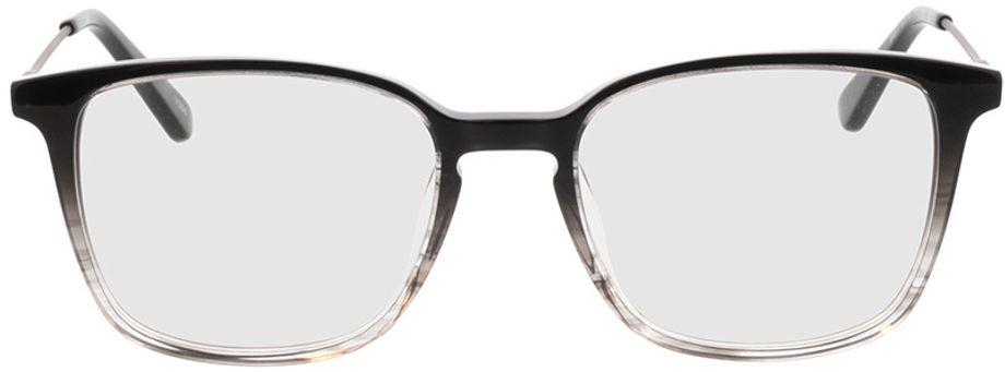 Picture of glasses model Lazio-schwarz/transparent/anthrazit in angle 0