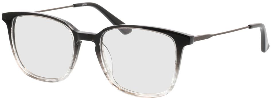 Picture of glasses model Lazio-schwarz/transparent/anthrazit in angle 330