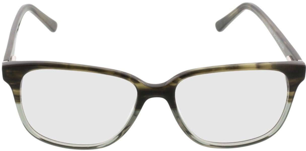 Picture of glasses model Comma, 70039 49 grün-grau 54-16 in angle 0