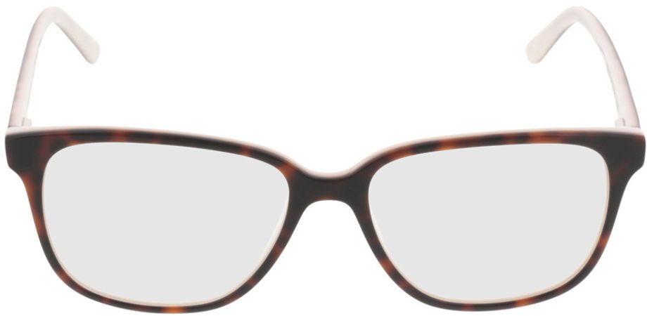 Picture of glasses model Comma70039 60 havanna-weiß 54-16 in angle 0