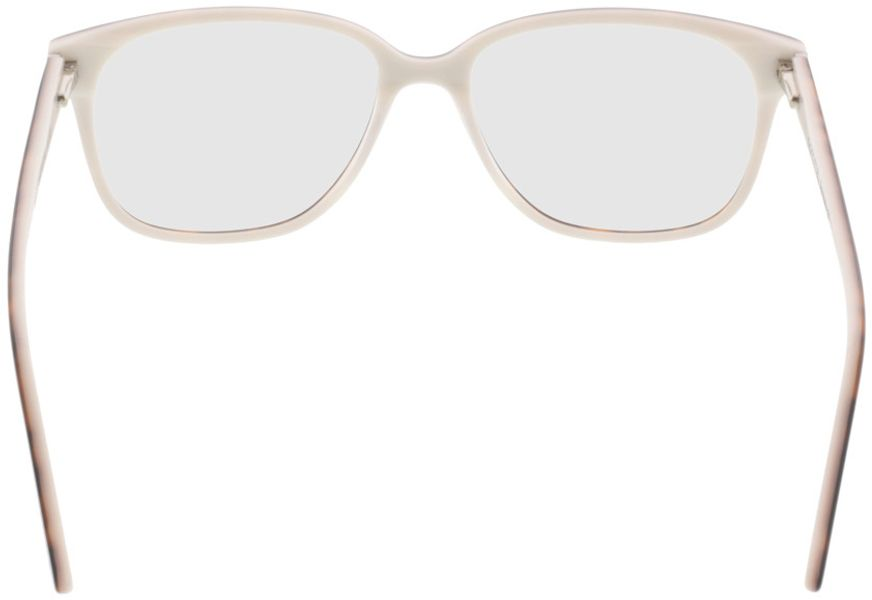 Picture of glasses model Comma70039 60 havanna-weiß 54-16 in angle 180