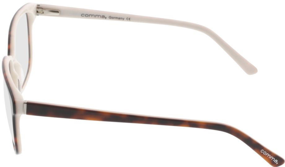 Picture of glasses model Comma70039 60 havanna-weiß 54-16 in angle 270