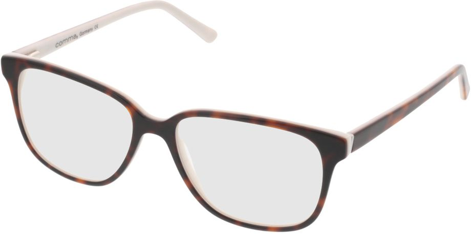 Picture of glasses model Comma70039 60 havanna-weiß 54-16 in angle 330