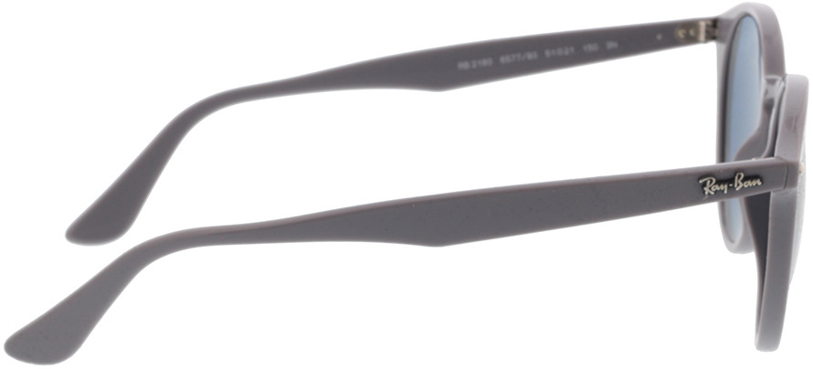 Picture of glasses model Ray-Ban RB2180 657780 51-21 in angle 90