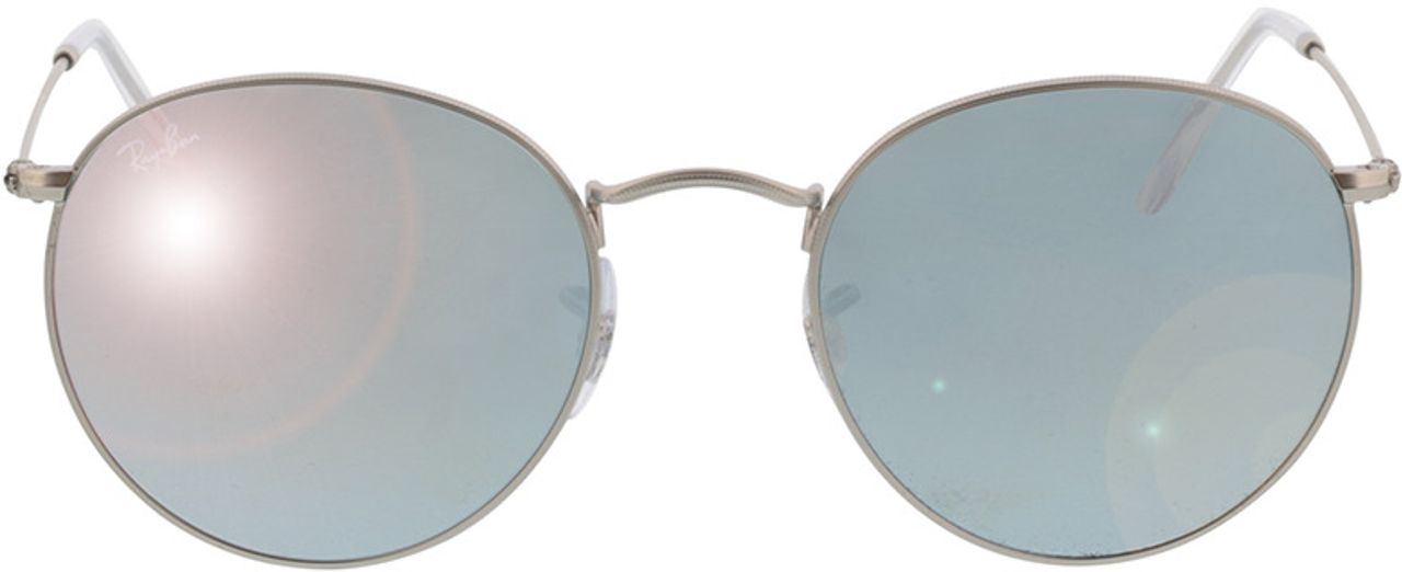 Picture of glasses model Ray-Ban Round Metal RB3447 019/30 53-21 in angle 0