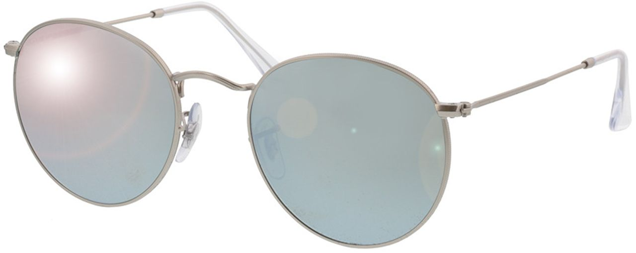 Picture of glasses model Ray-Ban Round Metal RB3447 019/30 53-21 in angle 330