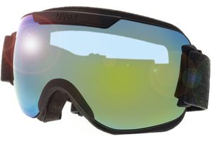 Skibrille Downhill 2000 FM Black Matt/Mirror Orange