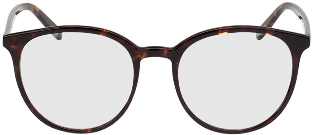 Picture of glasses model New York-braun-meliert in angle 0