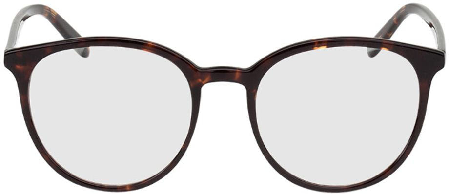 Picture of glasses model New York brown/mottled in angle 0