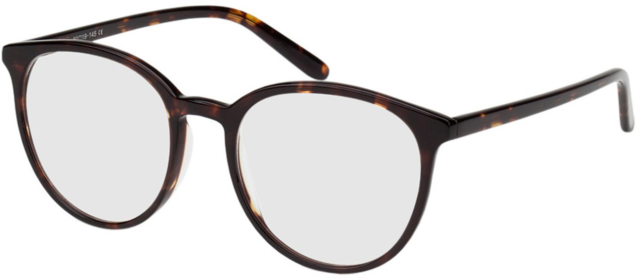 Picture of glasses model New York-braun-meliert in angle 330