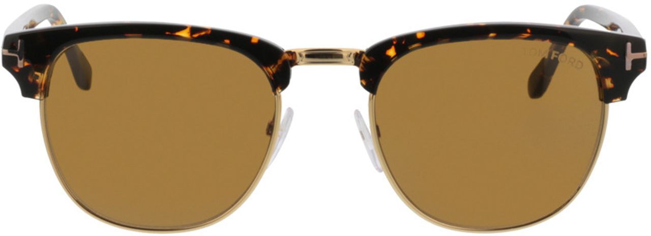 Picture of glasses model Tom Ford FT0248 56E in angle 0
