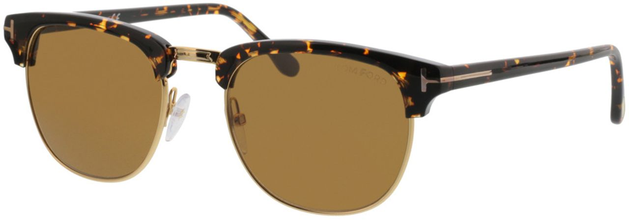 Picture of glasses model Tom Ford FT0248 56E in angle 330