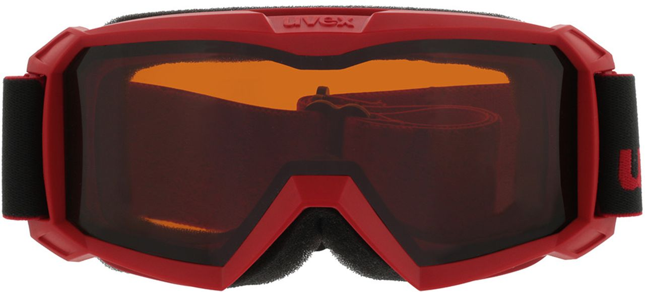 Picture of glasses model Uvex Skibrille Flizz LG red in angle 0
