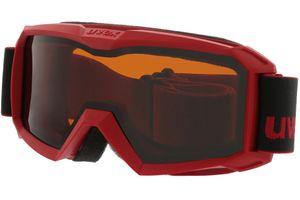 Uvex Skibrille Flizz LG red