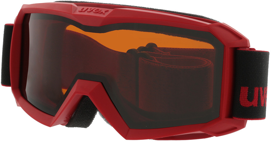 Picture of glasses model Uvex Skibrille Flizz LG red in angle 330