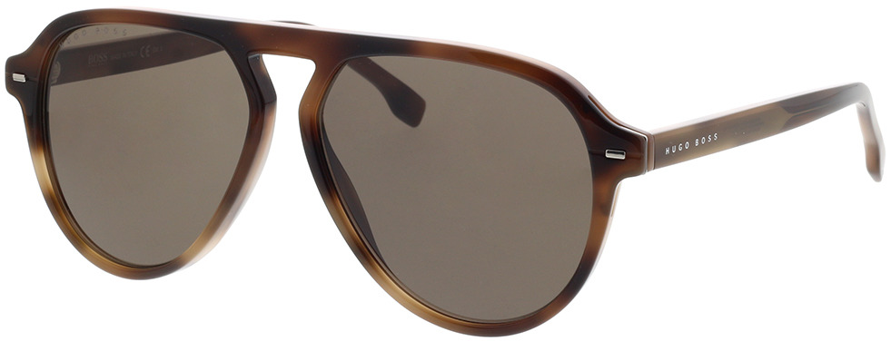 Picture of glasses model Boss BOSS 1126/S 05L 57-14 in angle 330