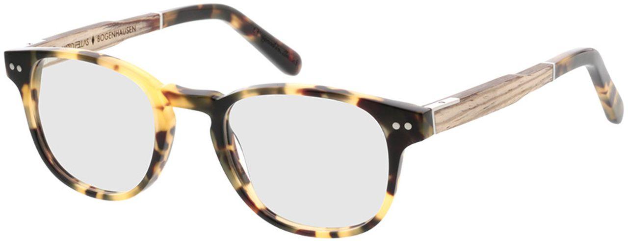 Picture of glasses model Wood Fellas Optical Bogenhausen Premium limba/havana 45-20 in angle 330
