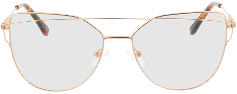 Picture of glasses model Calida mat Goud in angle 0