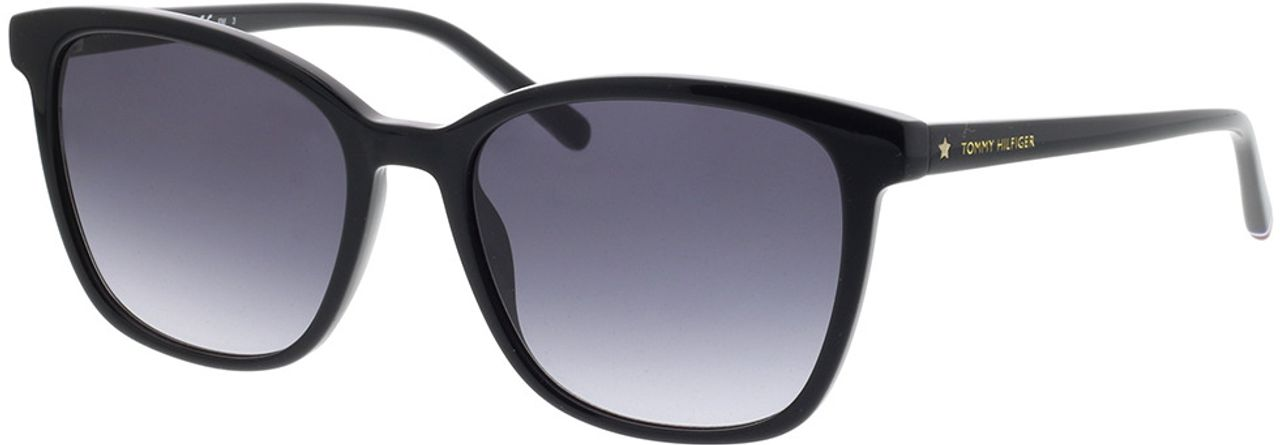 Picture of glasses model Tommy Hilfiger TH 1723/S 807 54-18 in angle 330