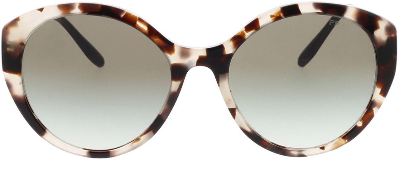 Picture of glasses model Prada PR 18XS UAO0A7 55-19 in angle 0