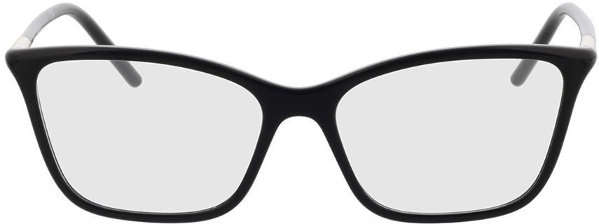 Picture of glasses model Prada PR 08WV 1AB1O1 55-16 in angle 0