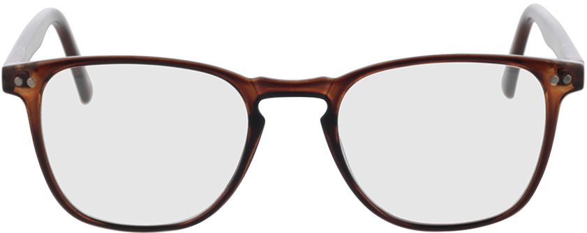 Picture of glasses model Foster-braun in angle 0