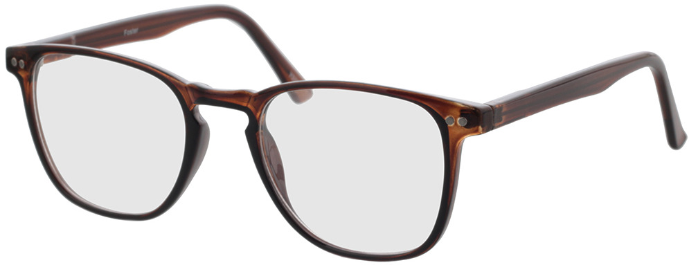 Picture of glasses model Foster-braun in angle 330