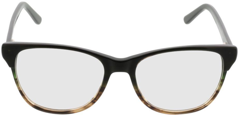 Picture of glasses model Comma70042 36 schwarz-grau 53-17 in angle 0