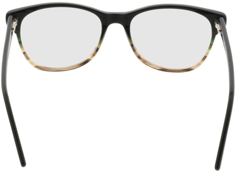 Picture of glasses model Comma70042 36 schwarz-grau 53-17 in angle 180