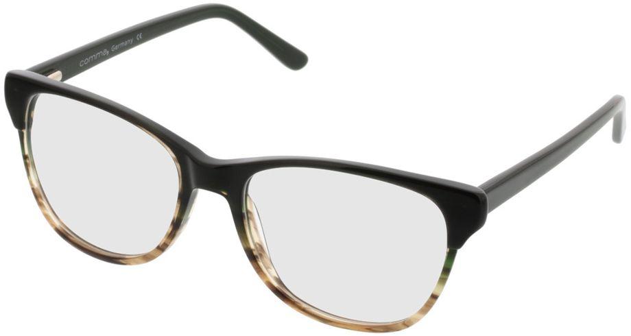 Picture of glasses model Comma70042 36 schwarz-grau 53-17 in angle 330