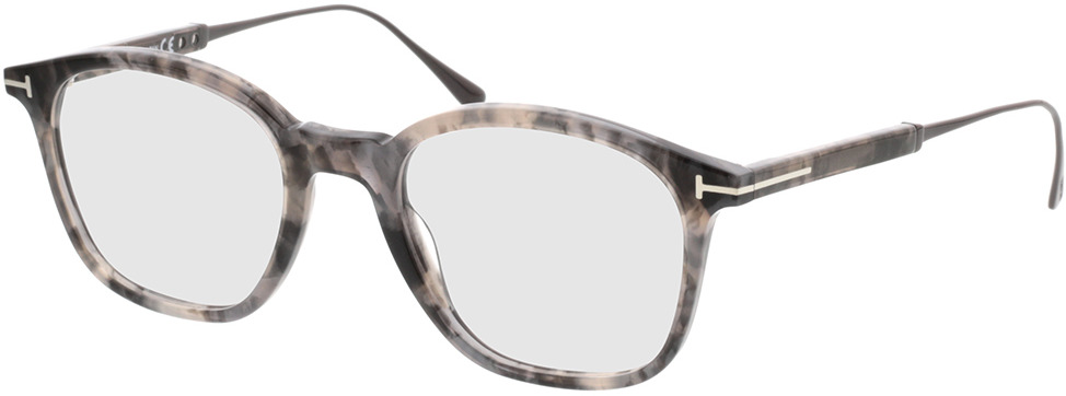 Picture of glasses model Tom Ford FT5484 055 in angle 330