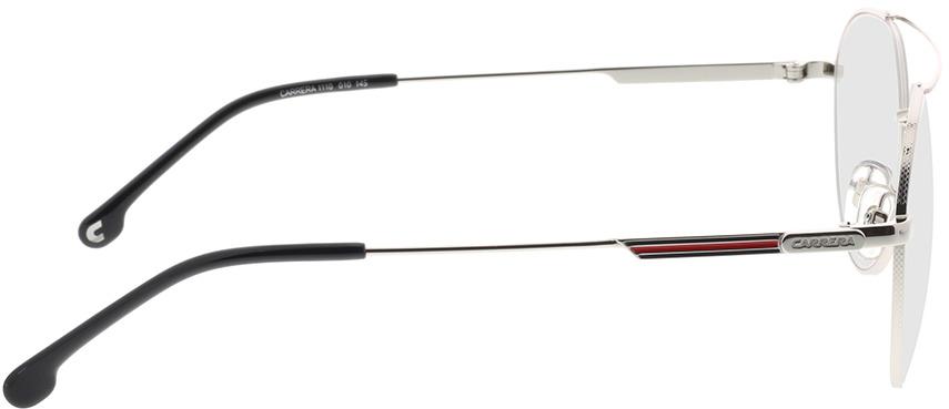 Picture of glasses model Carrera CARRERA 1110 010 55-19 in angle 90