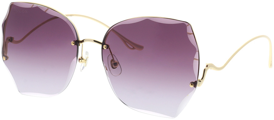 Picture of glasses model Bolon BL7102 A60 60-16 in angle 330