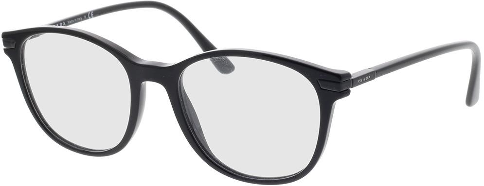 Picture of glasses model Prada PR 02WV 07F1O1 54-19 in angle 330