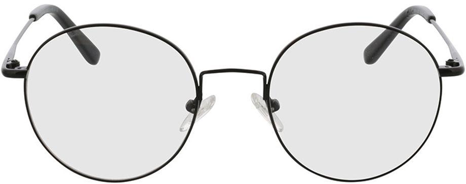 Picture of glasses model Coca-black in angle 0