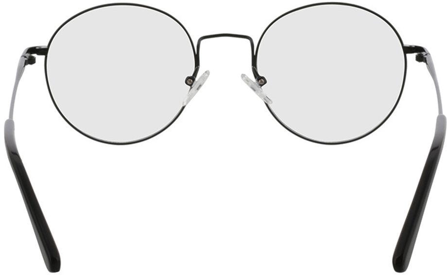 Picture of glasses model Coca-black in angle 180
