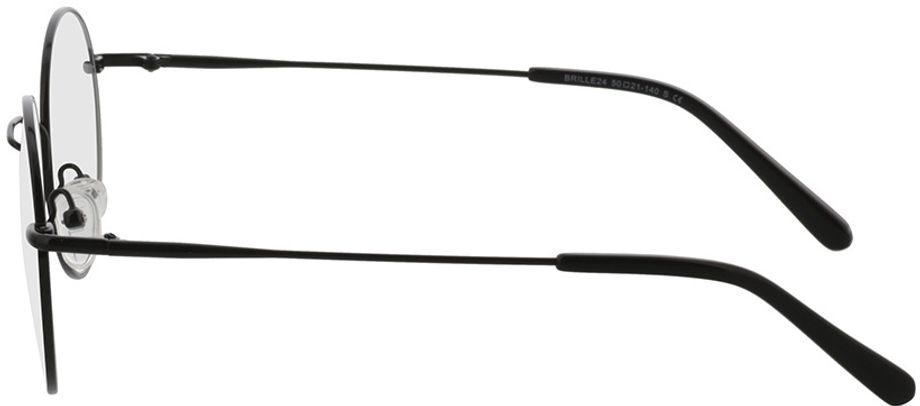 Picture of glasses model Coca-black in angle 270