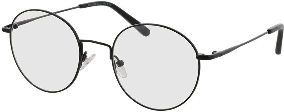Picture of glasses model Coca-black in angle 330
