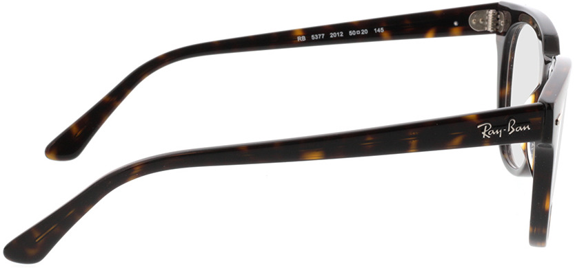 Picture of glasses model Ray-Ban Meteor RX5377 2012 50-20 in angle 90