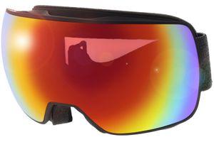Skibrille Compact FM Black Matt/Mirror Rainbow